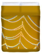 Gold And Diamonds Duvet Cover