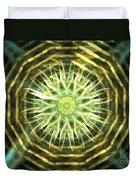 Gold Bullion Duvet Cover