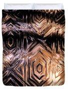 Gold Carving Duvet Cover
