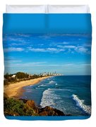 Gold Coast North Duvet Cover
