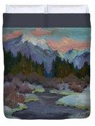 Gold Creek Snoqualmie Pass Duvet Cover