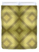 Gold Metallic 14 Duvet Cover