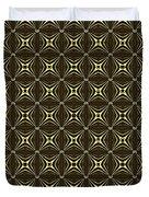 Gold Metallic 17 Duvet Cover