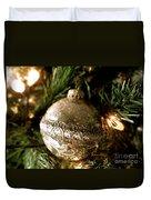 Gold Ornament Duvet Cover