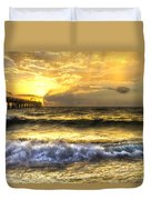 Gold Rush Duvet Cover by Debra and Dave Vanderlaan