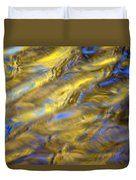 Gold Waters Duvet Cover