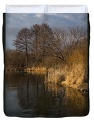 Golden Afternoon Reflections Duvet Cover