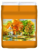 Golden Autumn Day 2 Duvet Cover