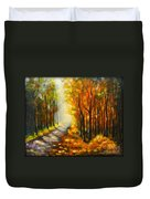 Golden Autumn Duvet Cover