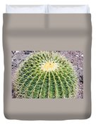 Golden Ball Cactus Duvet Cover