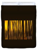 Golden Blur Duvet Cover by Anne Gilbert