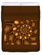 Golden Brown Duvet Cover