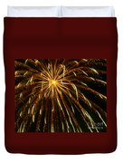 Golden Burst Duvet Cover
