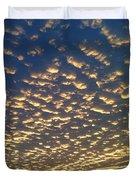 Golden Clouds Duvet Cover