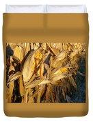 Golden Corn Duvet Cover
