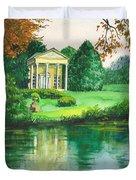 Golden Cottage Duvet Cover