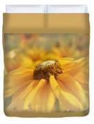 Golden Crown - Rudbeckia Flower Duvet Cover