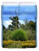 Golden Days Of Autumn Duvet Cover