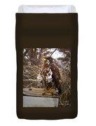 Golden Eagle Duvet Cover