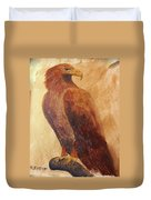 Golden Eagle Duvet Cover