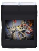 Golden Finch Cold Shoulder Duvet Cover