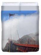 Golden Gate Bridge San Francisco California Duvet Cover