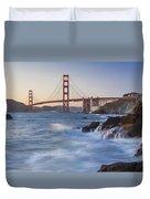 Golden Gate Bridge Sunset Study 5 Duvet Cover
