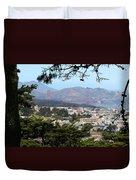 Golden Gate From Buena Vista Park Duvet Cover