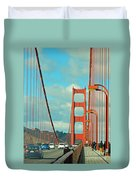 Golden Gate Walkway Duvet Cover