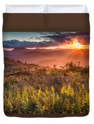 Golden Glory Duvet Cover