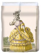 Golden Gown, Engraved By Dupin, Plate Duvet Cover