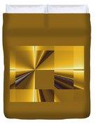Golden Graphic Duvet Cover