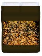 Golden Grasses Duvet Cover