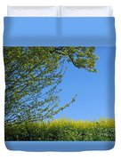 Golden Growing Season Duvet Cover