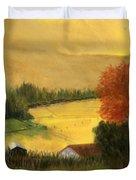 Golden Haze Duvet Cover