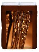 Golden Ice Duvet Cover