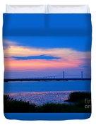 Golden Isles Bridge Duvet Cover