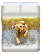 Golden Labrador Duvet Cover