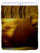 Golden Landscape Duvet Cover