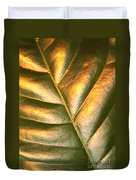 Golden Leaf 2 Duvet Cover