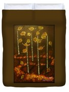 Golden Leaves 2 Duvet Cover