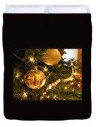 Golden Ornaments Duvet Cover