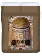 Golden Pantheon Altar Duvet Cover