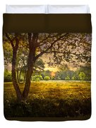 Golden Pastures Duvet Cover