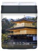 Golden Pavilion Kyoto Duvet Cover