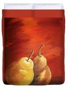 Golden Pear's Duvet Cover