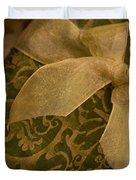 Golden Present Duvet Cover