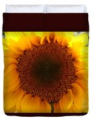 Golden Ratio Sunflower Duvet Cover by Kerri Mortenson
