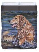Golden Retriever  Duvet Cover