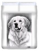 Golden Retriever Spence Duvet Cover